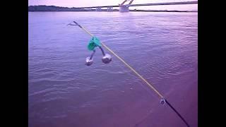 Рыбалка с берега на оби