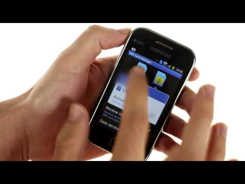 Samsung S6802 Galaxy Ace Duos user interface