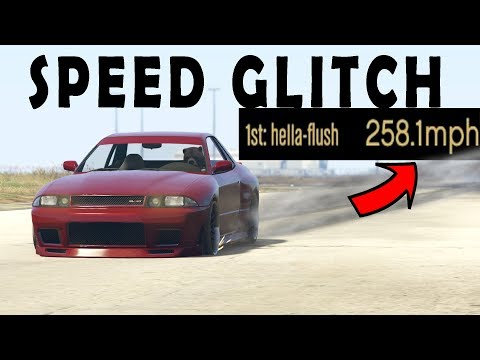 FASTEST CAR SPEED GLITCH GTA 5 ONLINE