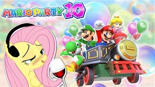 DRUNK Fluttershy plays Mario Party 10 🍉 | NEW YURS AGIN! | Part 1