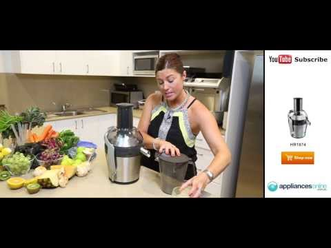 Video Three fabulous juice recipes to try at home with your HR1874 - Appliances Online
