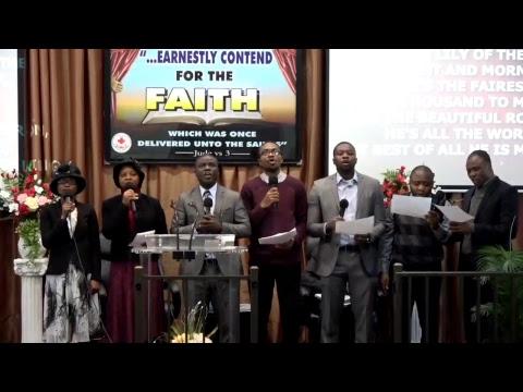 Deeper life Bible Church lowell Choir. 01.07.2018