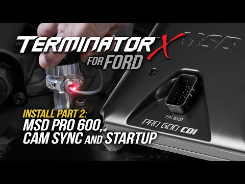 Terminator X for Ford Part 2: MSD Pro 600 & Cam Sync on Small Block Ford