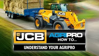 How to operate your JCB AGRI Pro
