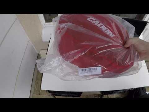 Banggood Caden K1 shoulder bag for DSLR unboxing