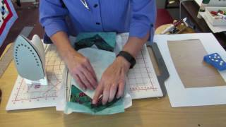AccuQuilt Holiday Medley Snowflake Machine Embroidery Applique Tutorial