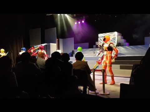 Kyoto   Toei Kyoto Studio Park   Super Sentai show 1