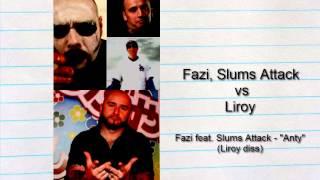 "Fazi feat. Slums Attack - ""Anty"" - Liroy diss"