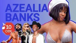 Узнать за 10 секунд | AZEALIA BANKS угадывает хиты Lil Nas X, Denzel Curry, Madonna и еще 17 треков