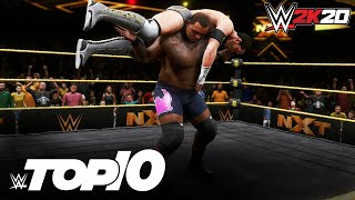 Keith Lee's Limitless in-ring maneuvers: WWE 2K20 Top 10