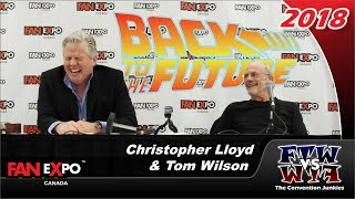 Back to the Future: Christopher Lloyd & Tom Wilson - Fan Expo Canada 2018