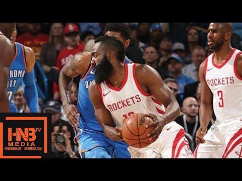 Houston Rockets vs Oklahoma City Thunder Full Game Highlights / March 6 / 2017-18 NBA Season