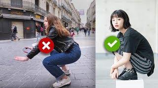 为什么外国人不会亚洲蹲? (欧美人亚洲蹲挑战!)