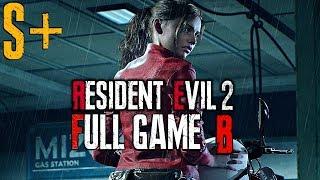 Resident Evil 2 Remake - Claire B Full Walkthrough S+ (SPEEDRUN Sizzling Scarlet Hero Trophy)