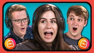 YOUTUBERS REACT TO INSTAGRAM TV (IGTV) - Video Youtube