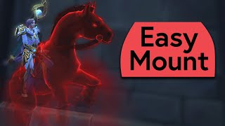 Sinrunner Blanchy Is Really Easy to Get- Mount Guide and Live Stream Highlight
