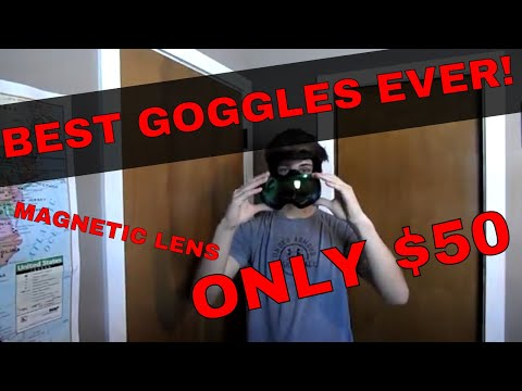 BEST CHEAP Ski/Snowboard Goggle of 2018 | MAGNETIC GOGGLE | $50 | OUTDOOR MASTER