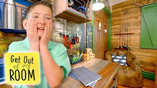 Brothers Get INDOOR CAMPSITE As Their Bedroom! ⛺️ | Get Out Of My Room | Universal Kids