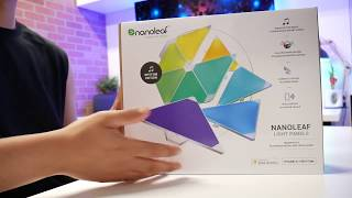 Nano Leaf: Rhythm Smarter Kit - A YouTubers Must Have!