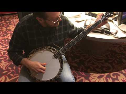 Jason Burleson Test of Prucha Spirit JB lightweight banjo