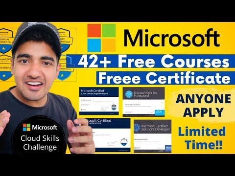 Free Microsoft Certification Courses | Microsoft Cloud ... - YouTube