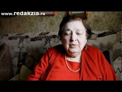 Ирина Токмакова читает свои стихи