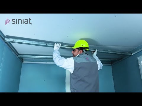 Poser un plafond autoportant facile et rapide