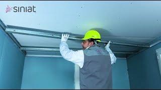 Poser un plafond autoportant en ba13 facile et rapide