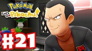 Final Gym Leader? - Pokemon Let's Go Pikachu and Eevee - Gameplay Walkthrough Part 21