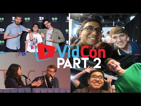 FTW VLOGS 15: I saw TheOdd1sOut, Rhett and Link and more! (VidCon Part 2) | AngeloFTW