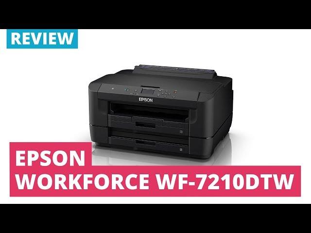 Epson WorkForce WF-7210DTW A3 Colour Inkjet Printer