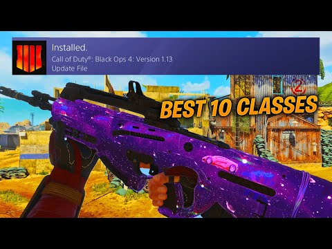 NEW OPERATION GRAND HEIST in COD BO4 / BEST CLASS SETUP & SETTINGS
