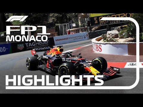 ペレスが1番手 F1モナコGP フリー走行1のハイライト動画