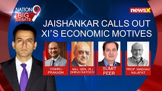 EAM Jaishankar Dials Up Chinese Counterpart | Calls Out Xi's Economic Motives | NewsX