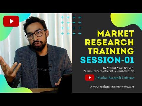 Market Research Training Session-01 l Market Research Course l ...