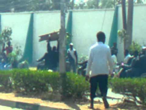 Bauchi fuel subsidy protest.3gp
