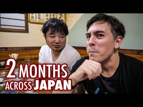 Zítra začíná 2 000 kilometrů dlouhá cesta napříč Japonskem