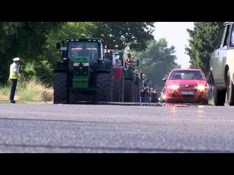 Βουλγαρία: Κινητοποιήσεις των αγροτών
