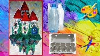 DIY Замок светильник на стену своими руками  Fairy castle Lamp часть 2