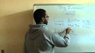 Calculus - Lesson 1- The Limits Of Trigonometric Functions Part 1 - Abdallah Reda El Sayed