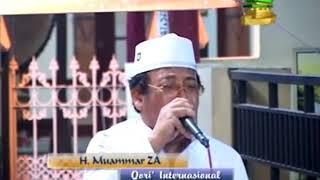 H Muammar ZA - Shalawat Badar Bikin Nangis