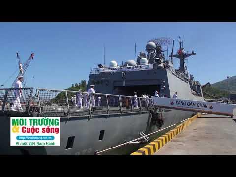Tàu Hải quân Hàn Quốc cập cảng Tiên Sa thăm Đà Nẵng