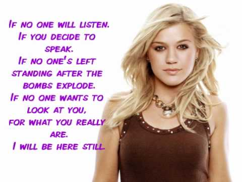 Kelly Clarkson - If No One Will Listen