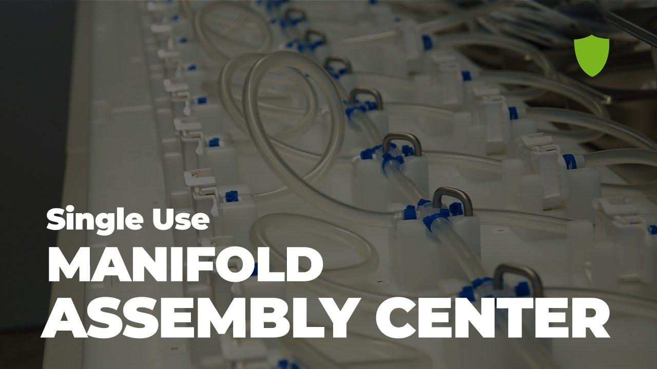 Single Use Manifold Assembly Center / Single Use Support