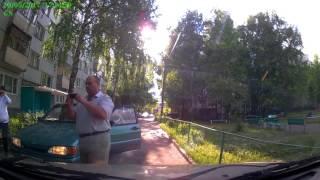 Олени на дороге неработающий глазомер Пенза Арбеково 30 05 17
