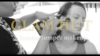 Make Up Tutorial for Equestrian Hunter Jumper Riders on Show Day // Glam Hut