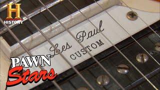 Pawn Stars: TOP 12 RARE & EXPENSIVE GUITARS | History