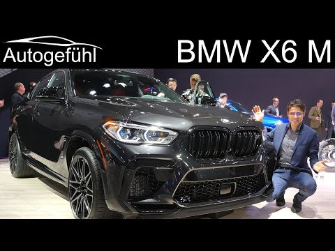 BMW X6 M REVIEW 625 hp SUV X6 M Competition - Autogefühl