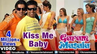 Kiss Be Baby Full Video Song  Garam Masala  Akshay Kumar John Abraham  Adnan Sami
