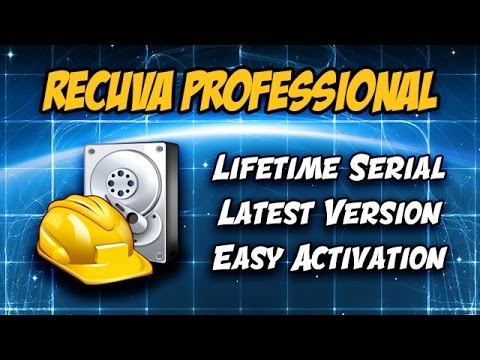 Video ???? Recuva Pro 1.53.1087 | How to install and activate | Recover deleted files.